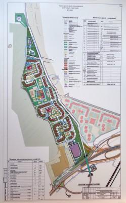 Что за новый корпус появился вместо леса?  - Схема архитектурно-планировочной организации территории.jpg