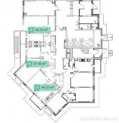 Особенности уровня первых этажей 11 корпуса. - 1 секция.jpg