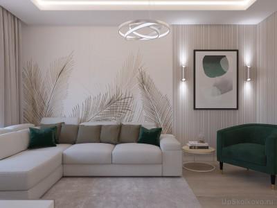 Дизайн интерьера для новоселов  - 2ghk Tushino 2018 гостиная 2.jpg