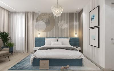 Дизайн интерьера для новоселов  - 8Спальня ЖК Новые Черемушки.jpg
