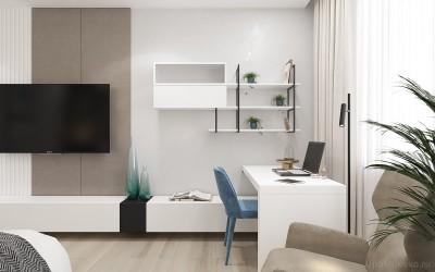 Дизайн интерьера для новоселов  - 11Спальня 2 ЖК Новые Черемушки.jpg
