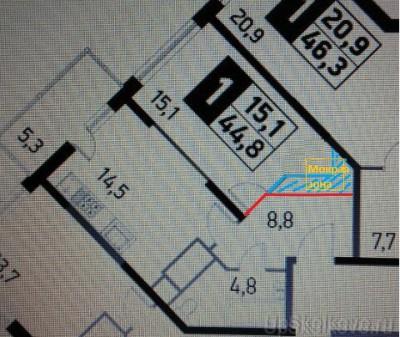 Объединение лоджии или балкона. Возможность перепланировки, варианты. - 1.JPG