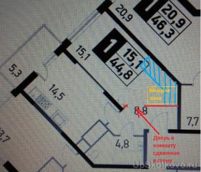 Объединение лоджии или балкона. Возможность перепланировки, варианты. - 2.JPG
